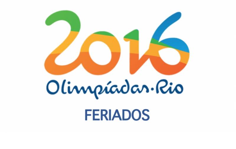 DIAS DE TRABALHO NAS OLIMPÍADAS (ATUALIZADO: 02/08/2016)