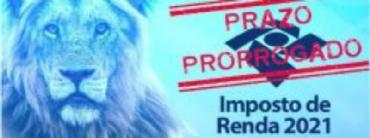 IRPF 2021-PRORROGAÇÃO